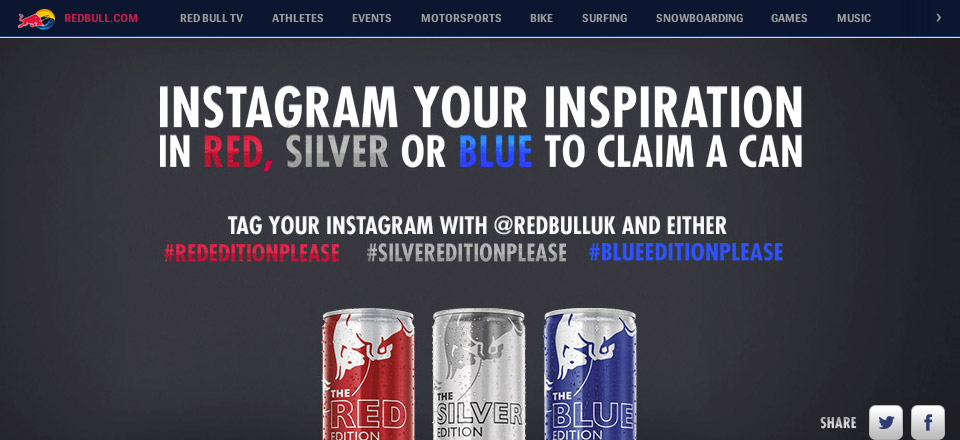 Redbull, Our Editions