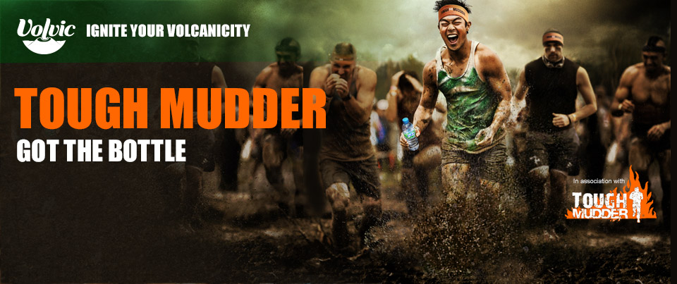 Volvic, Toughmudder Got the Bottle
