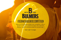 Bulmers, Begin with a Bulmers