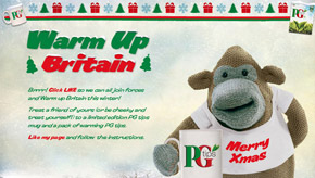 PG Tips Warm up Britain