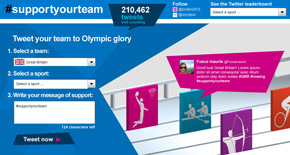 London 2012 Support your Team